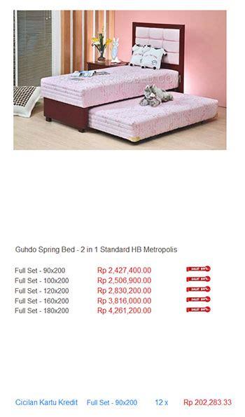 Bed Guhdo Di Bekasi harga guhdo bed harga bed termurah di