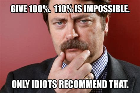 10 ron swanson quotes that will help you in business