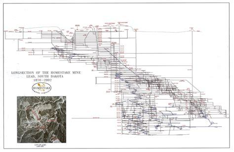 sketch book open south dakota mining history