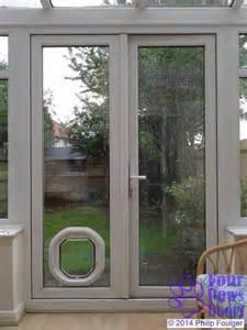 in glass pet door dogwalk door g dd in white