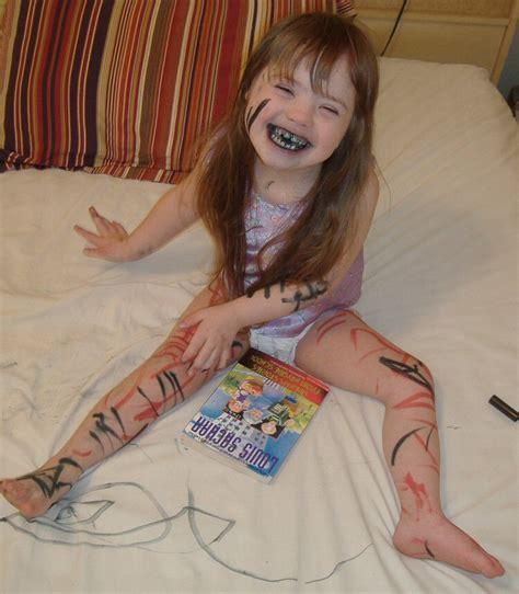 art little girl models face body paint women painting art online pictures