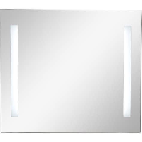 miroir salle de bain lumineux 3147 miroir lumineux eclairage int 233 gr 233 l 80 x h 70 cm sensea