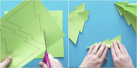 How To Make A 3d Paper Tree - colorful 3d tree craft i crafty things