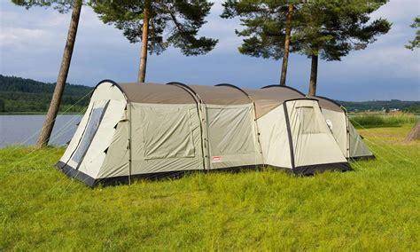 coleman mackenzie cabin 6 coleman mackenzie cabin 6 berth xl family tent pack buy