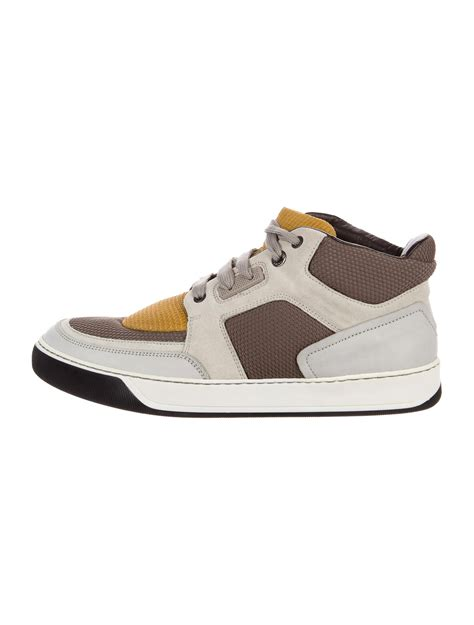 lanvin mid top sneakers lanvin toe mid top sneakers shoes lan66911 the