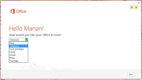 Office 2013 Themes by Microsoft To Introduce New Themes In Office 15 Being Manan