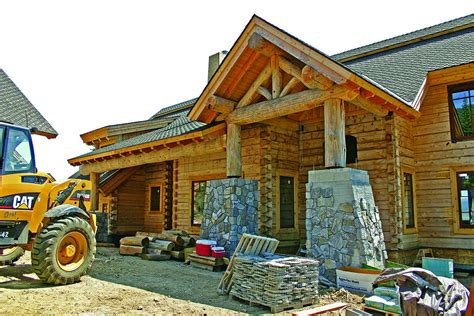 Log Cabin Building Tips   How To Build a Log Home Quickly