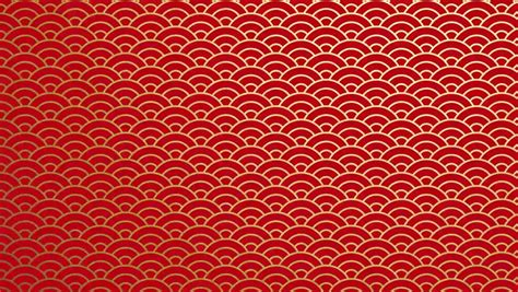 chinese pattern hd traditional japanese red texture chinese seas loop