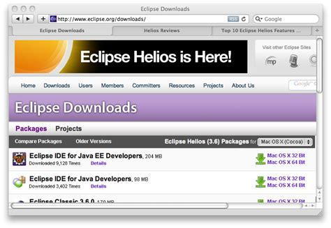 tutorial web project eclipse web project in eclipse helios download