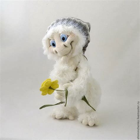 yeti doll pattern knitted interior doll yeti ii shop online on livemaster