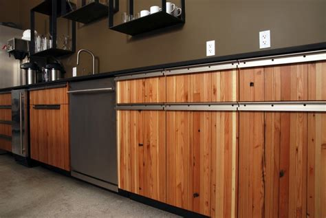 reclaimed wood kitchen cabinets reclaimed wood kitchen cabinets recycled things