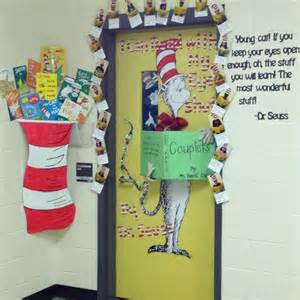 Dr Suess Decorations Read Across America Week Door Decoration Contest Dr