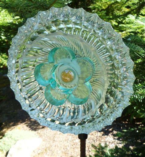 Unique Glass Flower Garden Art Glass Garden Flowers