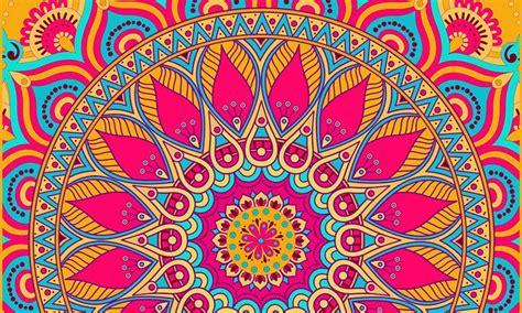 imagenes de mandalas de la india analizamos los colores del mandala 191 qu 233 significado