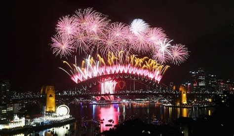when does new year start in australia australia and new zealand begin 2015 in pictures