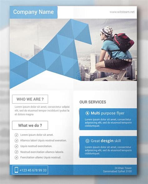 Collection Of 30 Free Flyer Mockup Designs Flyers Templates Free 2