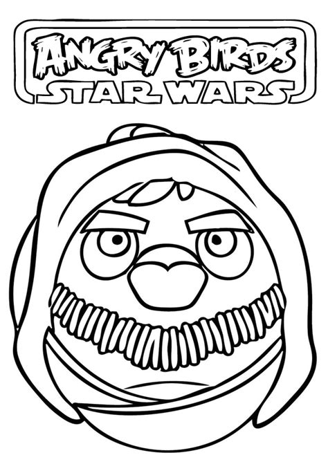 star wars coloring pages preschool angry birds star wars coloring pages c4 pinterest