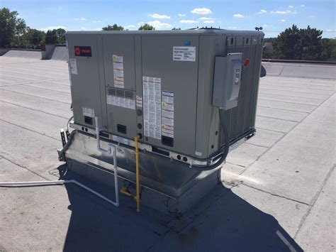 modern day comfort 5 ton trane roof top heating and cooling unit yelp