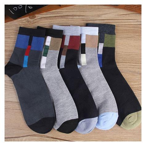 geometric pattern socks geometric patterns cotton business men s socks nowsel