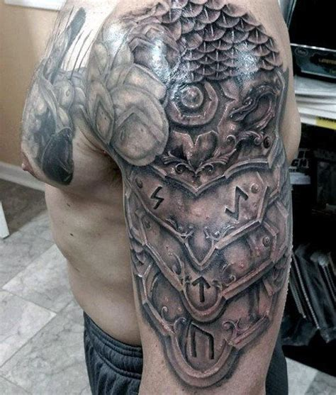 man with knight armor tattoo tatoos pinterest armor