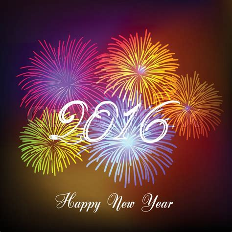 new year 2016 backdrop design happy new year fireworks 2016 background design