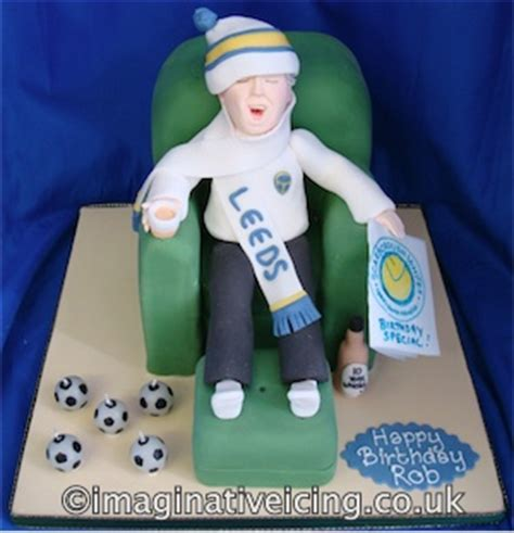 armchair supporter armchair football supporter imaginative icing cakes