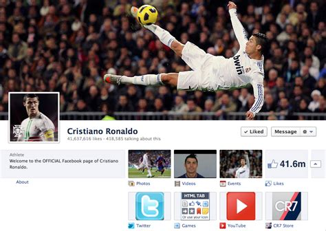 cristiano ronaldo biography timeline 42 sports facebook timeline cover photos reviewed