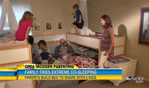 polygamist family sleeps in same bed meet the couple who sleep with their 5 children on the