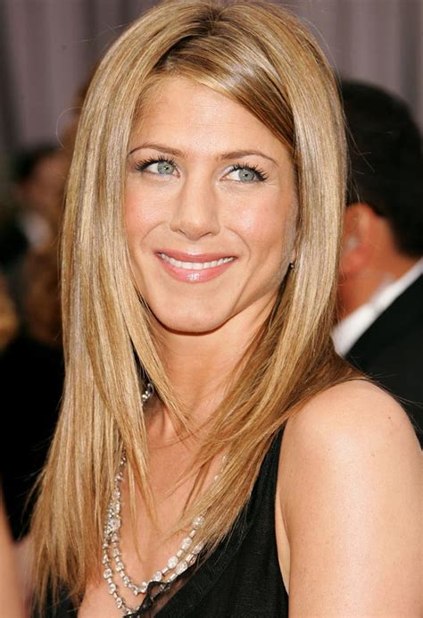 jennifer aniston long face frame haircut 30 trendy and beautiful long blonde hairstyles