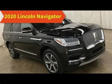 2020 Lincoln Navigator by 2020 Lincoln Navigator Update Review Interior