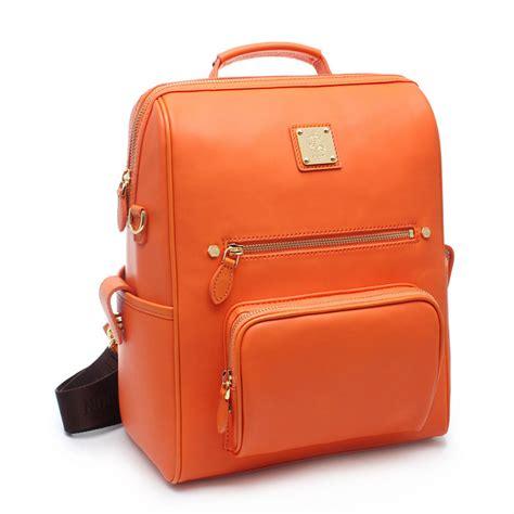 Trendy Tas Import Korea Handbag Orange Backpack St Shop Classic And Trendy