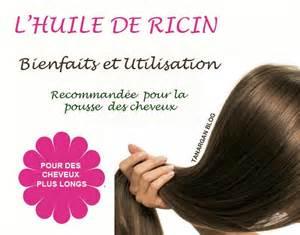 L huile de ricin pour la pousse des cheveux