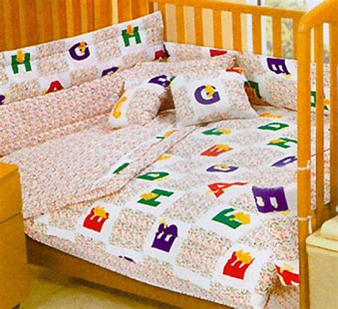 crib bedding size alphabet bears comforter set with bumpers animals abc