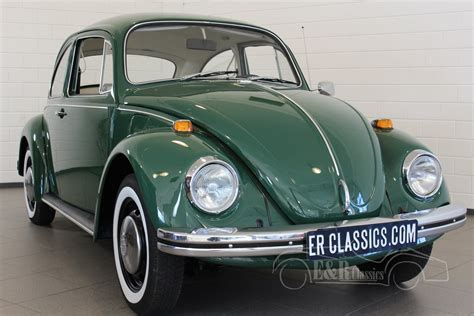 green volkswagen beetle volkswagen beetle green 1969 new paint beautiful car in