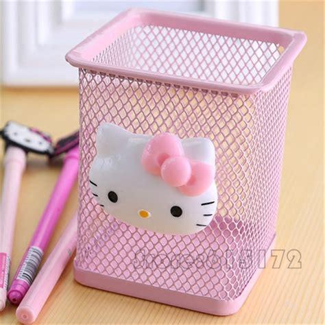 Office Accessories Hello Kitty Pen Holder Pencil Holder Hello Desk Accessories