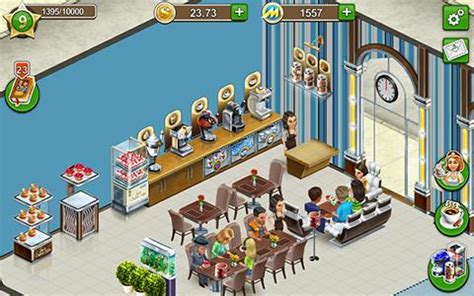 design your own coffee shop game coffee shop cafe business sim for android free download