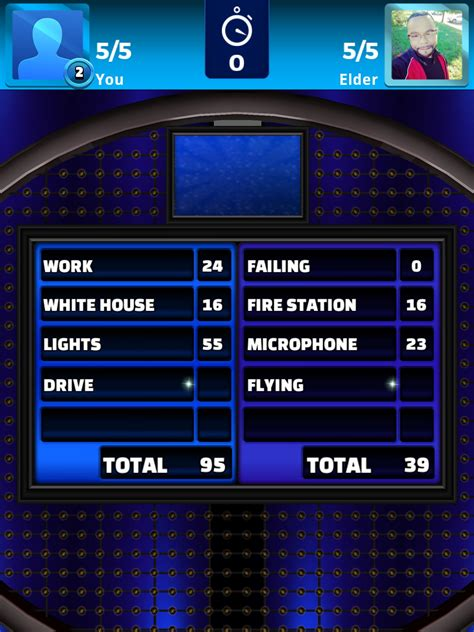 Family Feud Fast Money Win - family feud live review making it too easy gamezebo