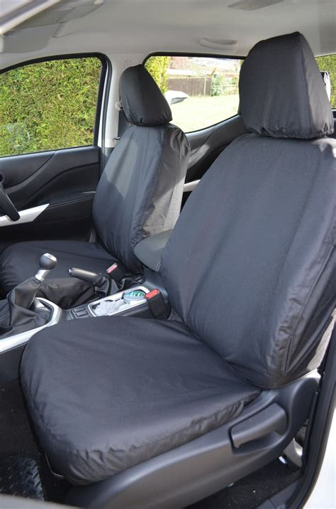 tailored waterproof black front rear seat covers fits