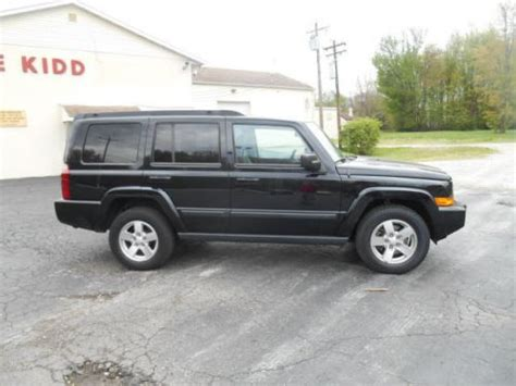 2007 Jeep Commander Transmission Sell Used 2007 Jeep Commander Sport In 1065 Ohio Pike