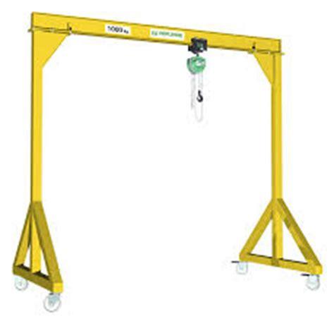design lifting frame a frame gantry cranes prolift lifting equipment ireland