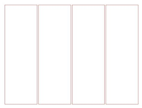 bookmark templates blank bookmark template for kidsfun coloring