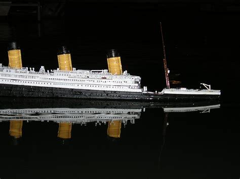 Titanic Sinking Model by Sinking Model Titanic Encyclopedia Titanica Message Board