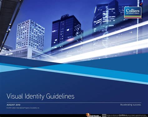 Colliers International by Brand Manual Corporate Identity Guidelines Pdf