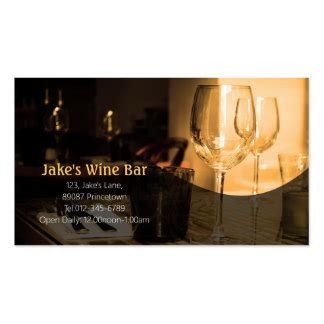 wine business cards templates wine business cards templates zazzle