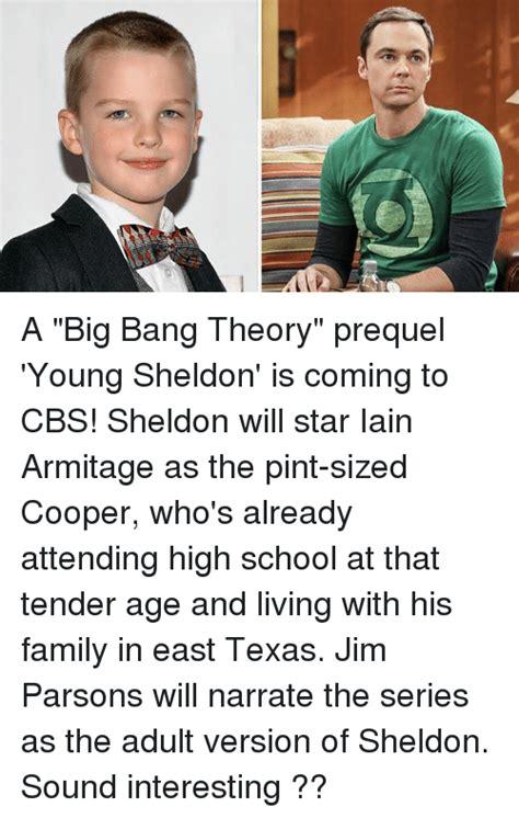 Young Sheldon Memes - 111 a big bang theory prequel young sheldon is coming to cbs sheldon will star iain armitage