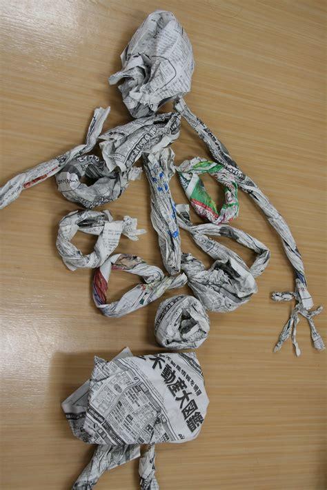 newspaper crafts newspaper skeleton craft preschool crafts for
