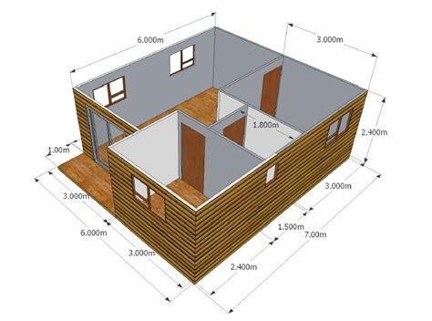 wooden 3 panel sliding door 9068 2 bedroom unit wendy houses pretoria and cape town 012