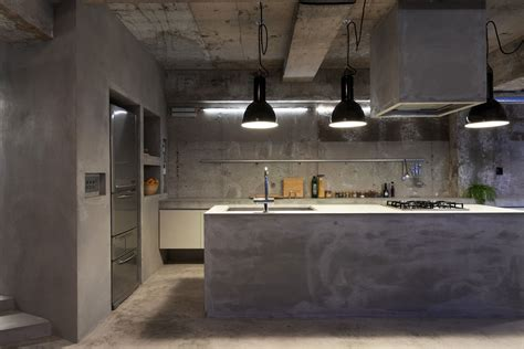 Modern Kitchen Concrete Countertops by Modern Kitchen Countertops From Materials 30 Ideas