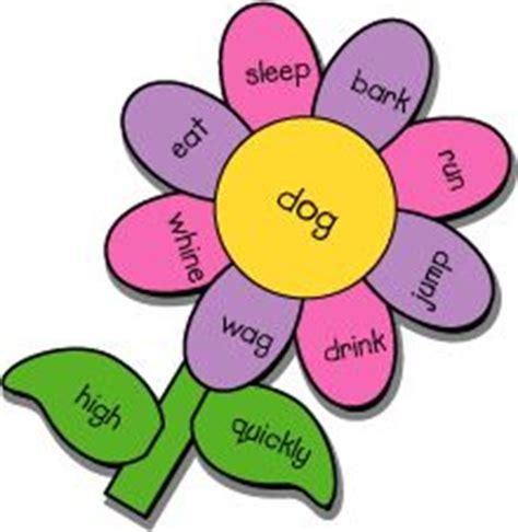 Gardening Verbs Verb Garden In The Center Write A Noun On Each Petal