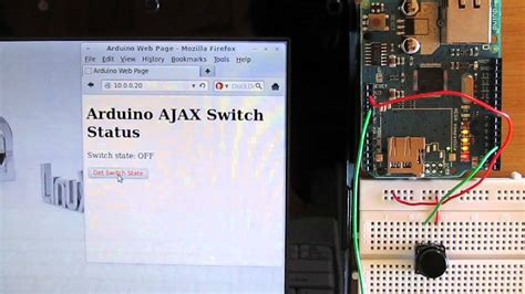 arduino ajax tutorial updating text and button colour using ajax and arduino web